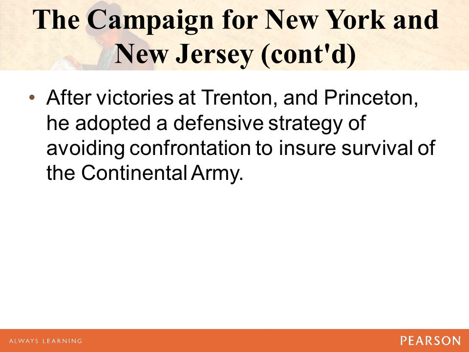 The Campaign for New York and New Jersey (cont d)