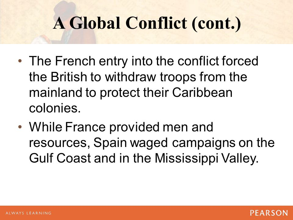 A Global Conflict (cont.)