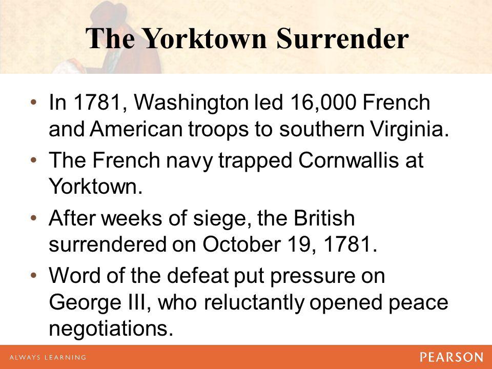 The Yorktown Surrender