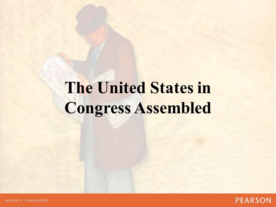 The United States in Congress Assembled
