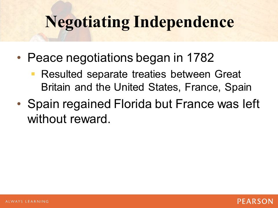 Negotiating Independence