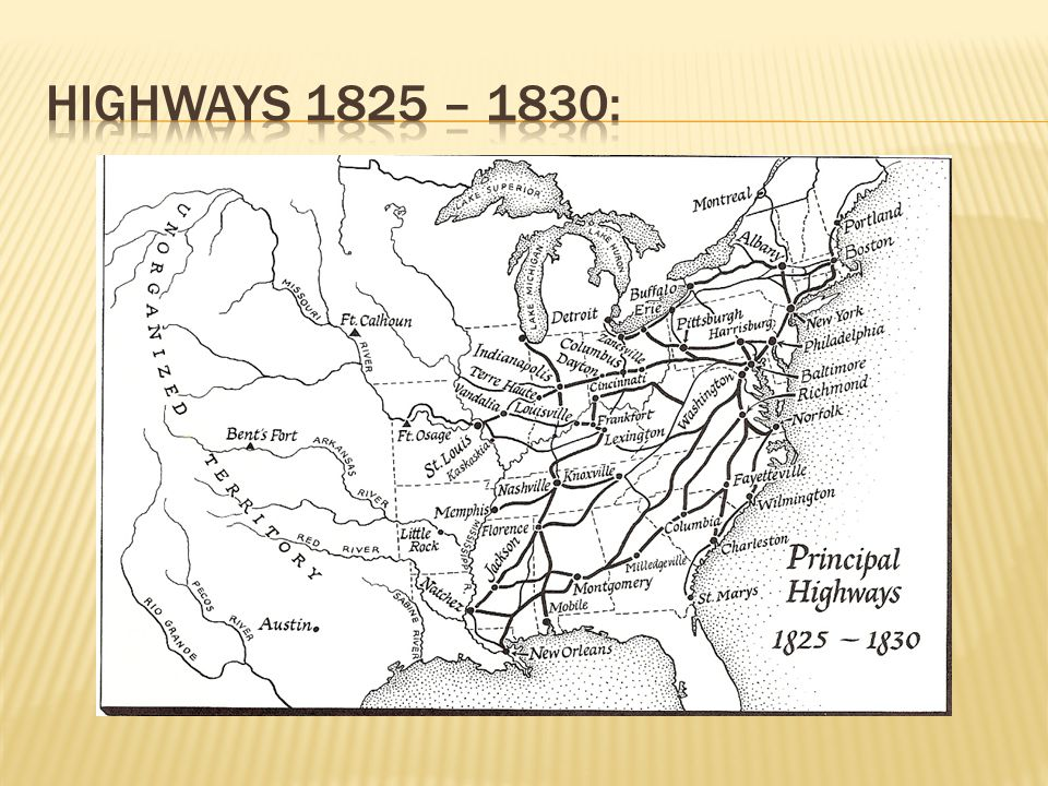 Highways 1825 – 1830: