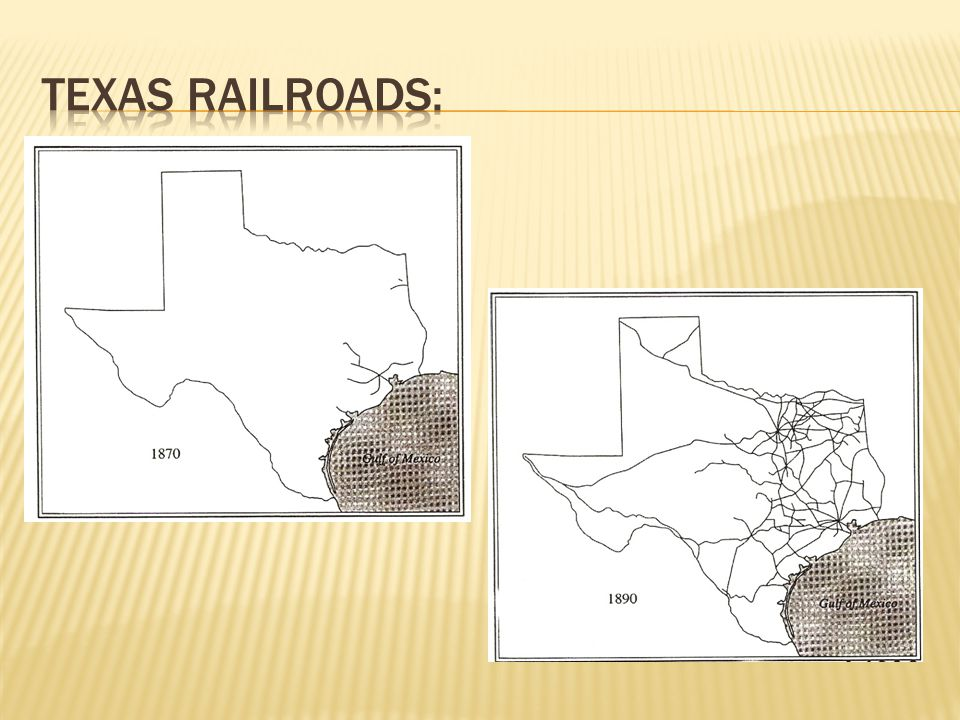 Texas Railroads: