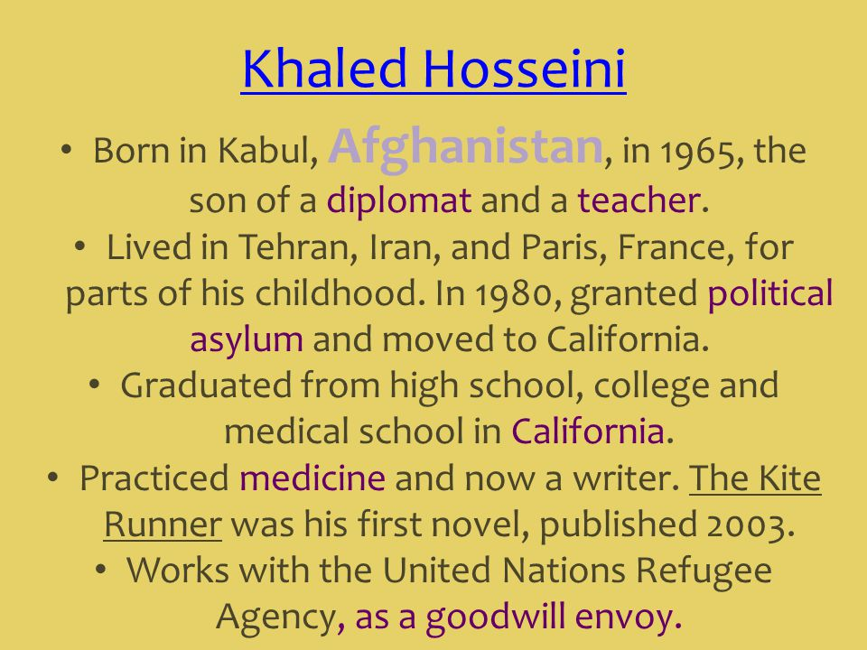 kite runner oral presentation Presentations text content in kite runner powerpoint presentation, ppt - docslides slide1 kite runnerchapters 4-5 mr bratkowski slide2 summary ali and baba grew up togetheramir and hassan enjoy going to the cemetery to read, although hassan is illiterateamir begins writing his own stories.