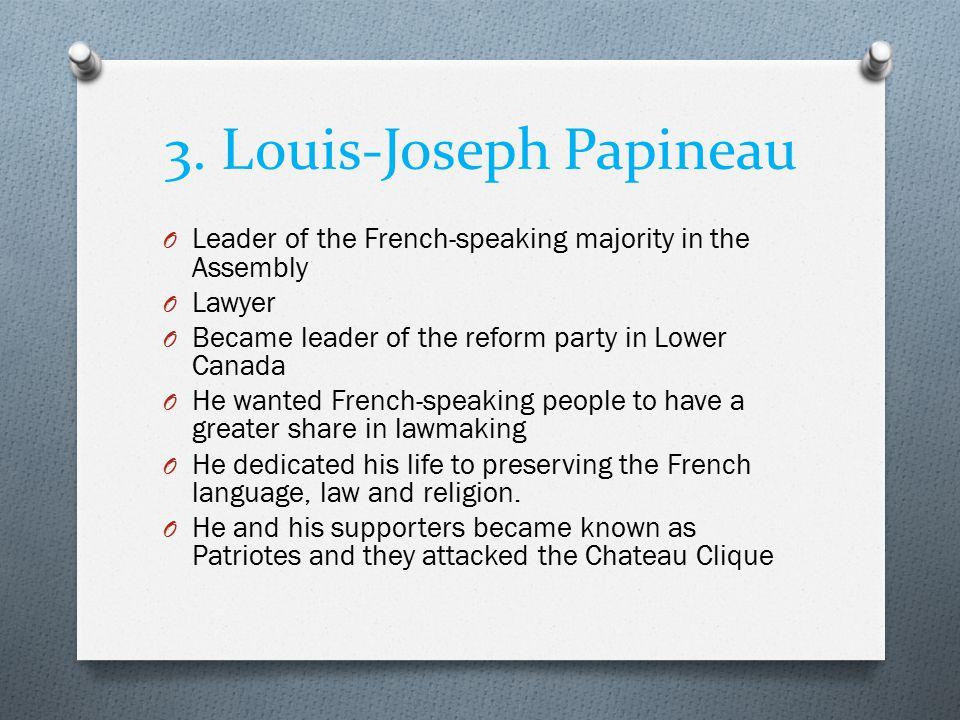 3. Louis-Joseph Papineau