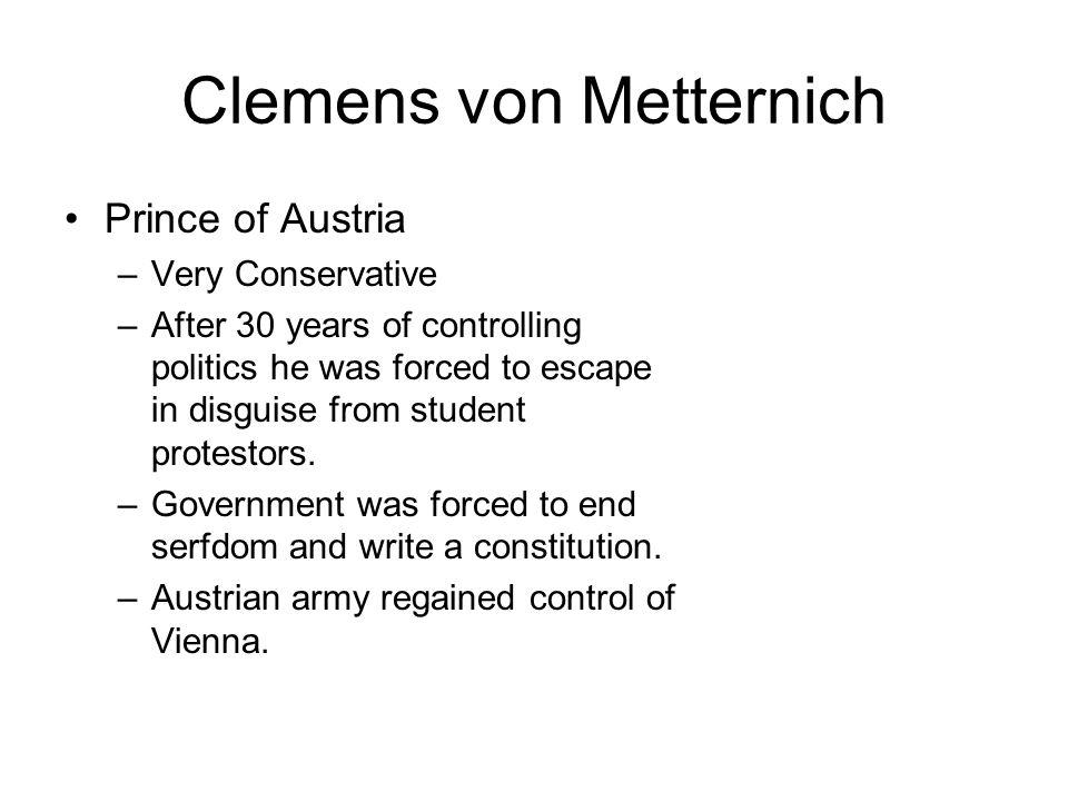 Clemens von Metternich