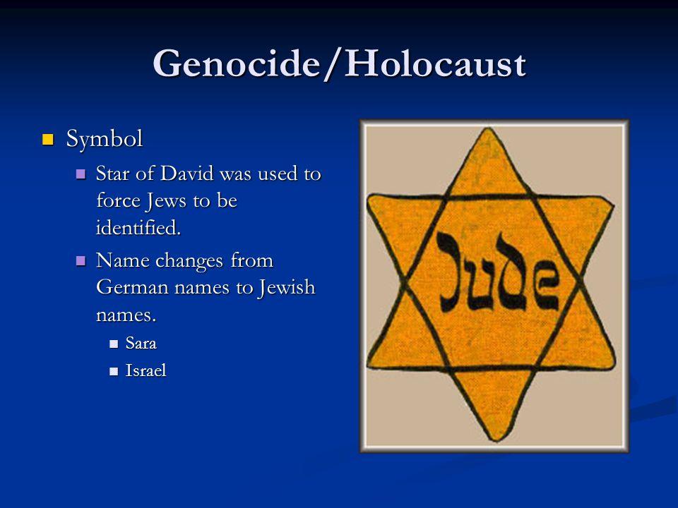 Genocide/Holocaust Symbol