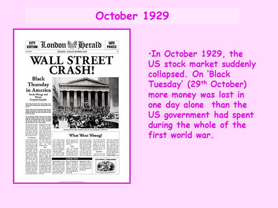 October 1929