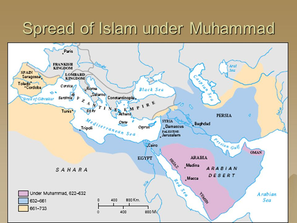 Spread of Islam under Muhammad