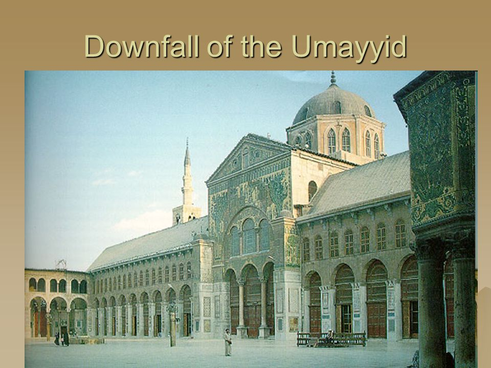 Downfall of the Umayyid