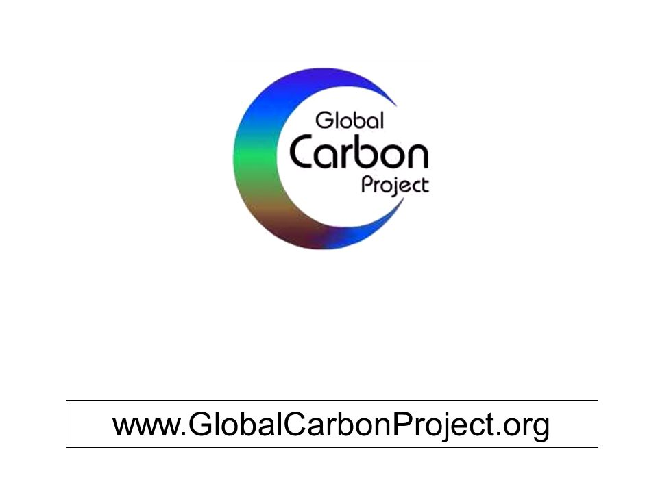 www.GlobalCarbonProject.org