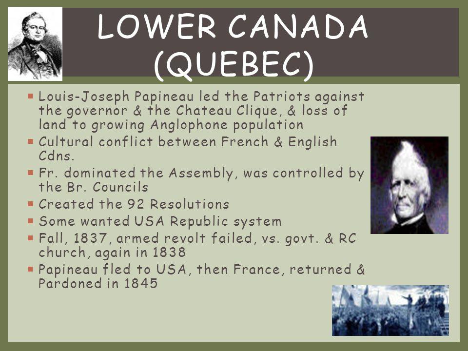 Lower Canada (Quebec)