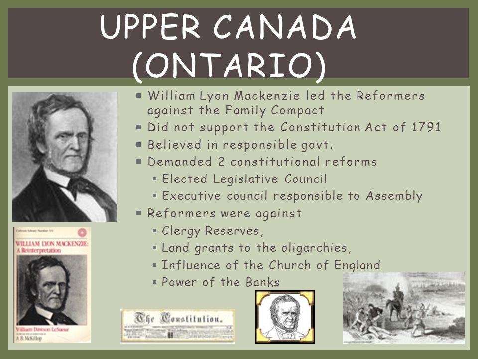 Upper Canada (Ontario)