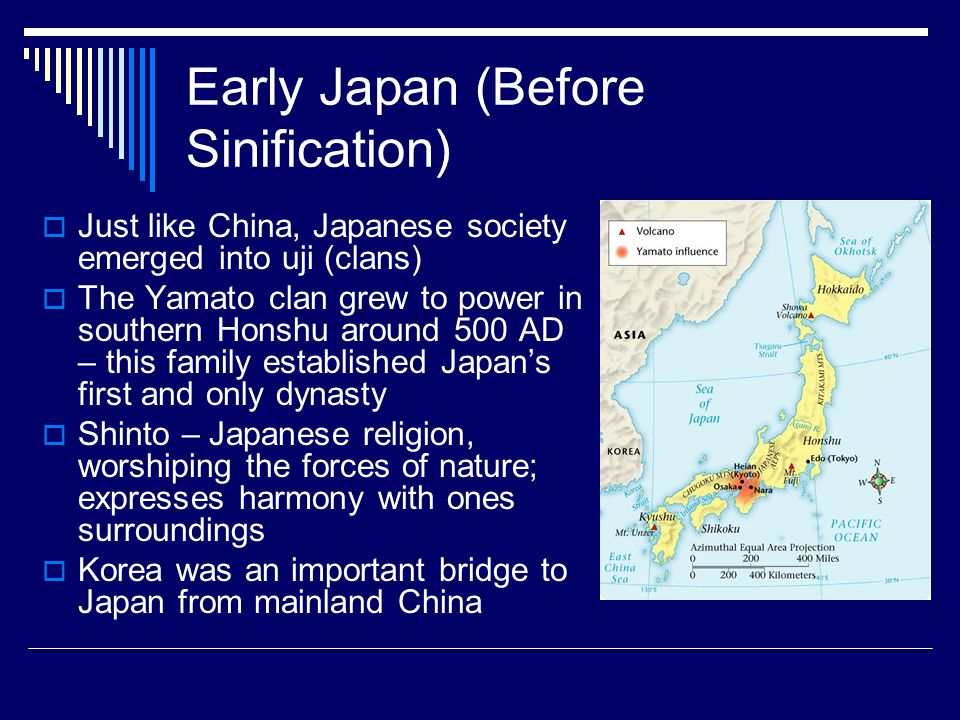 Early Japan (Before Sinification)
