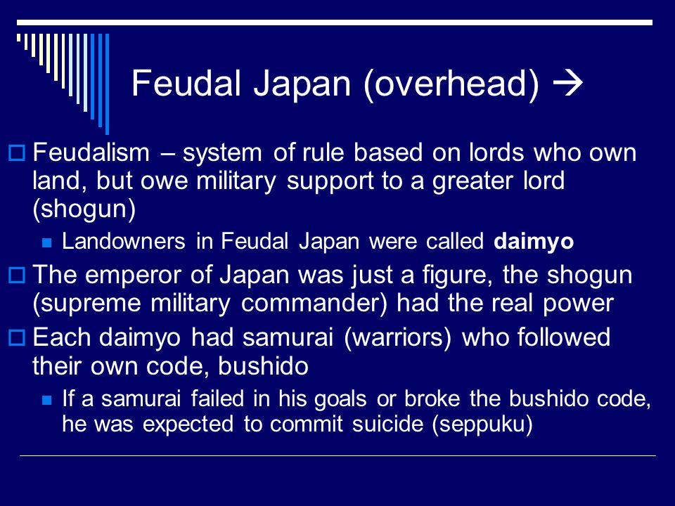 Feudal Japan (overhead) 
