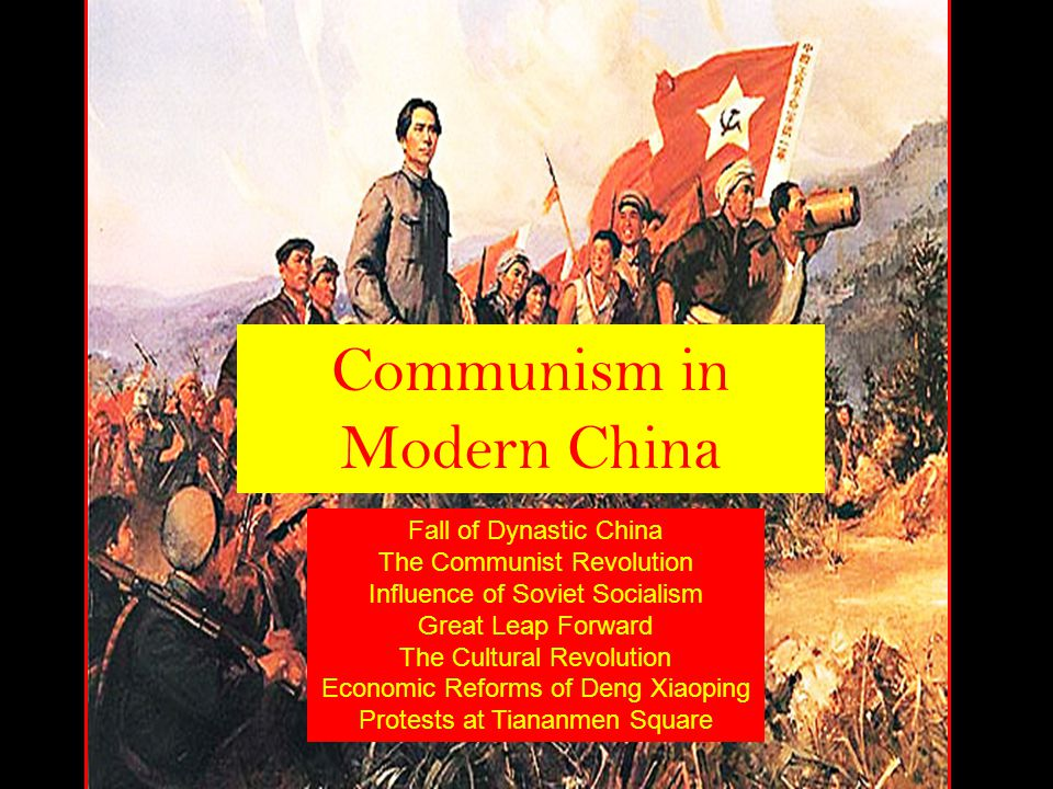 Communism in Modern China