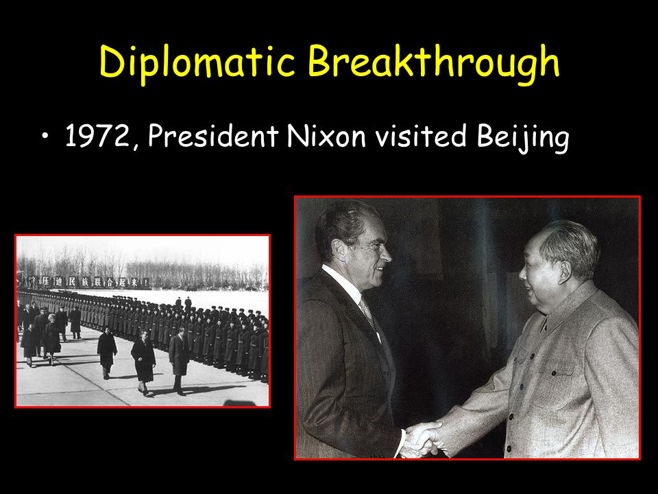 Diplomatic Breakthrough