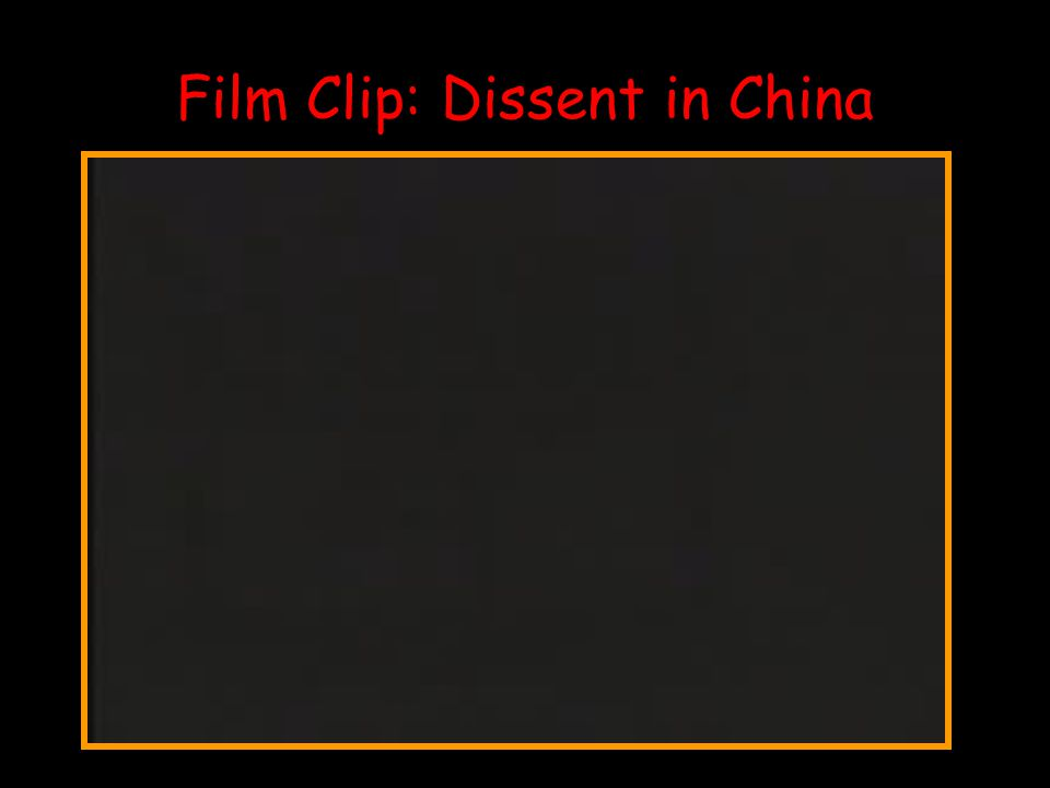 Film Clip: Dissent in China