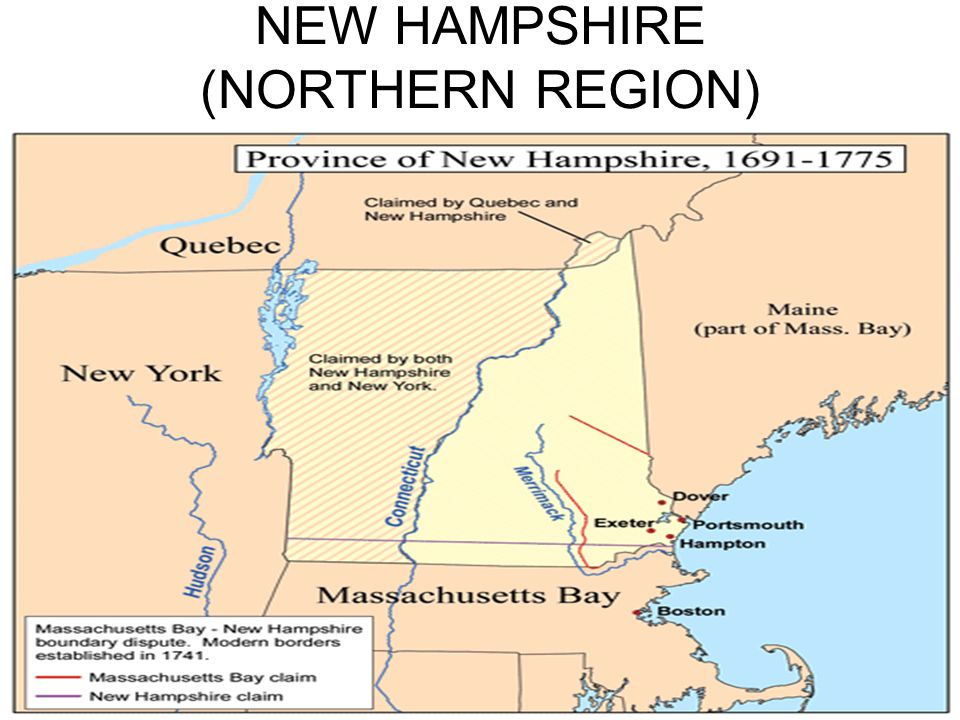 NEW HAMPSHIRE (NORTHERN REGION)