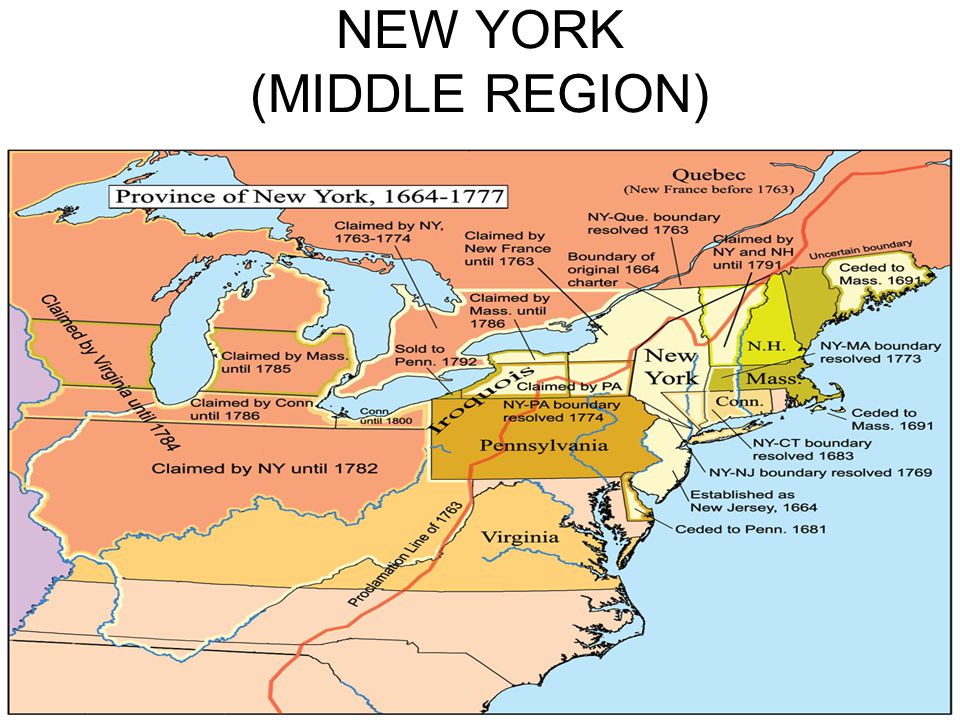 NEW YORK (MIDDLE REGION)