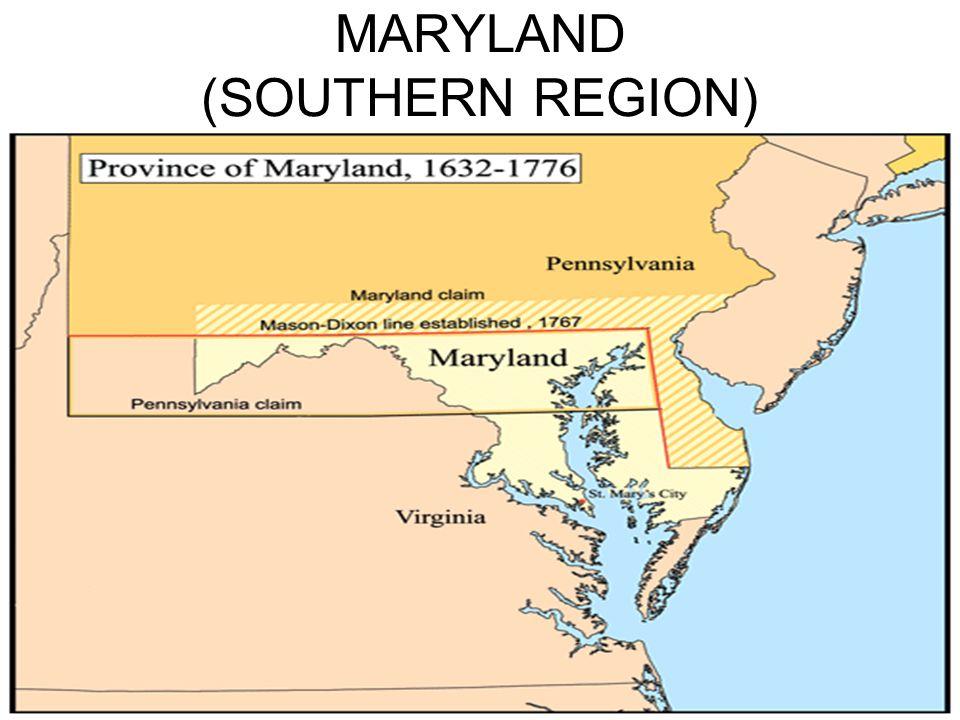MARYLAND (SOUTHERN REGION)