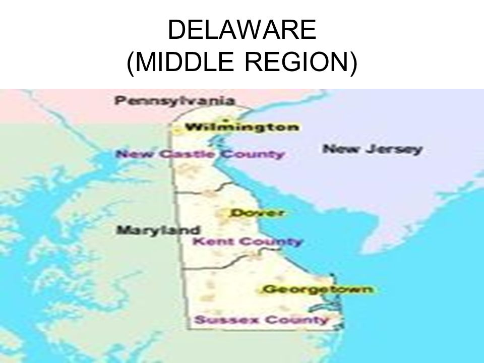 DELAWARE (MIDDLE REGION)