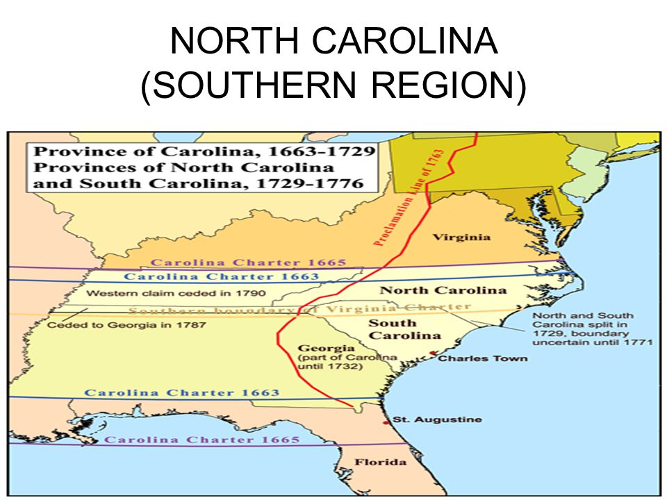 NORTH CAROLINA (SOUTHERN REGION)
