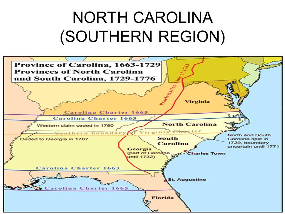 NORTH CAROLINA (SOUTHERN REGION)