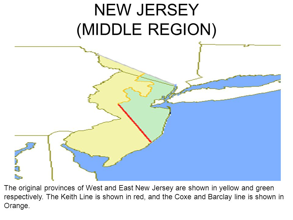 NEW JERSEY (MIDDLE REGION)
