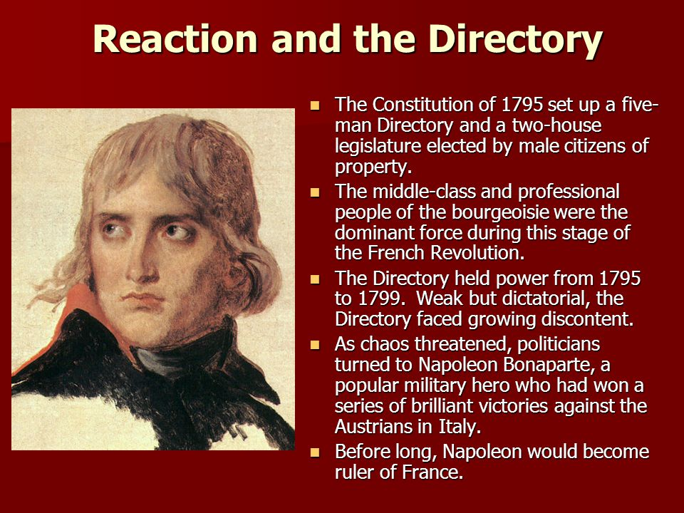 Reaction and the Directory