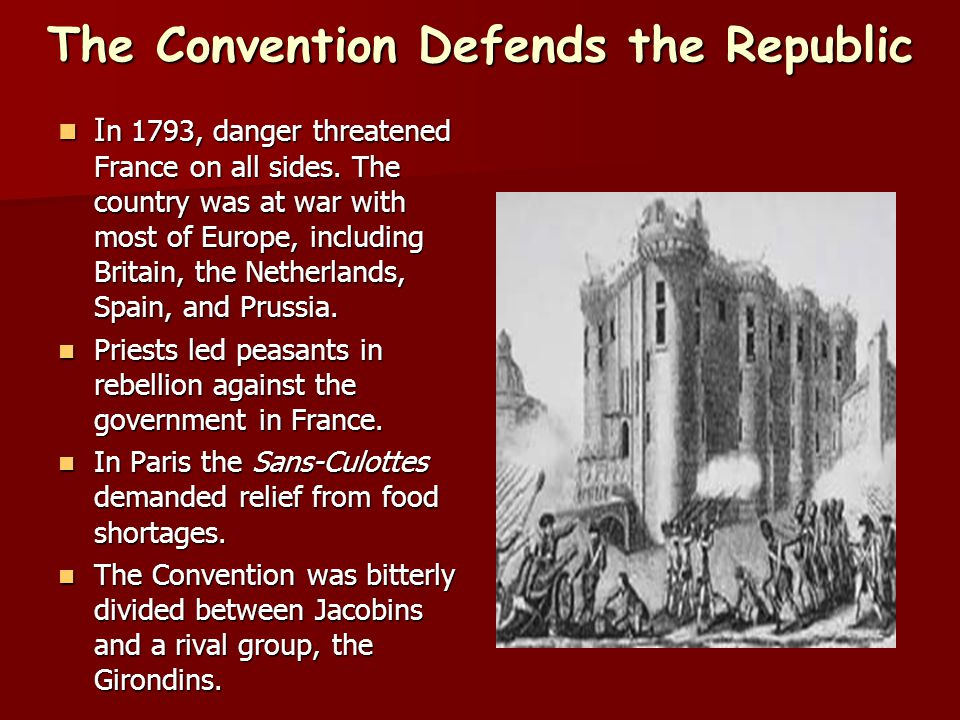 The Convention Defends the Republic
