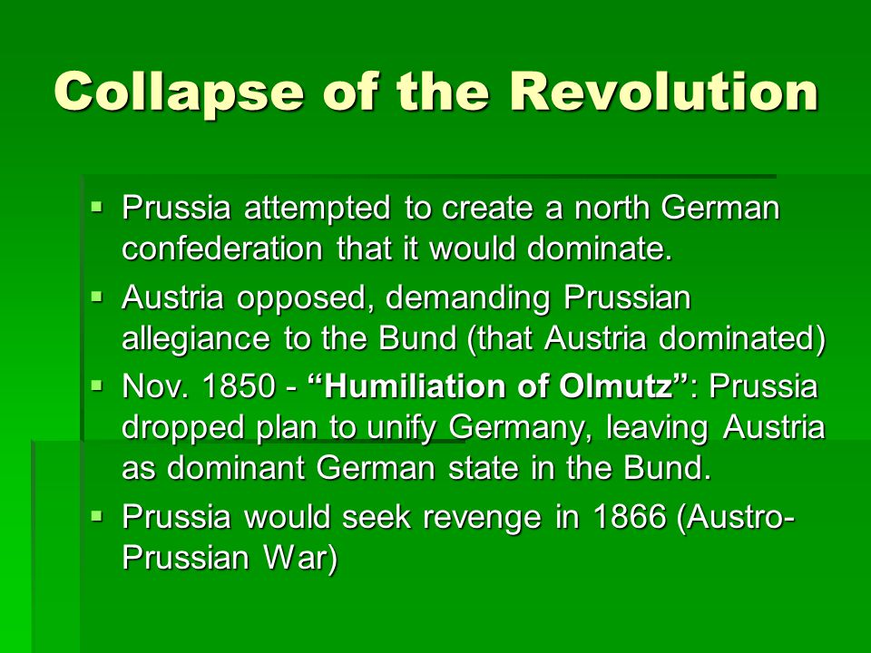 Collapse of the Revolution