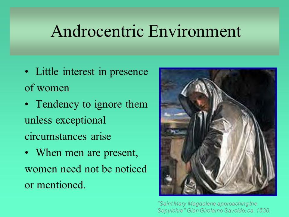 Androcentric Environment