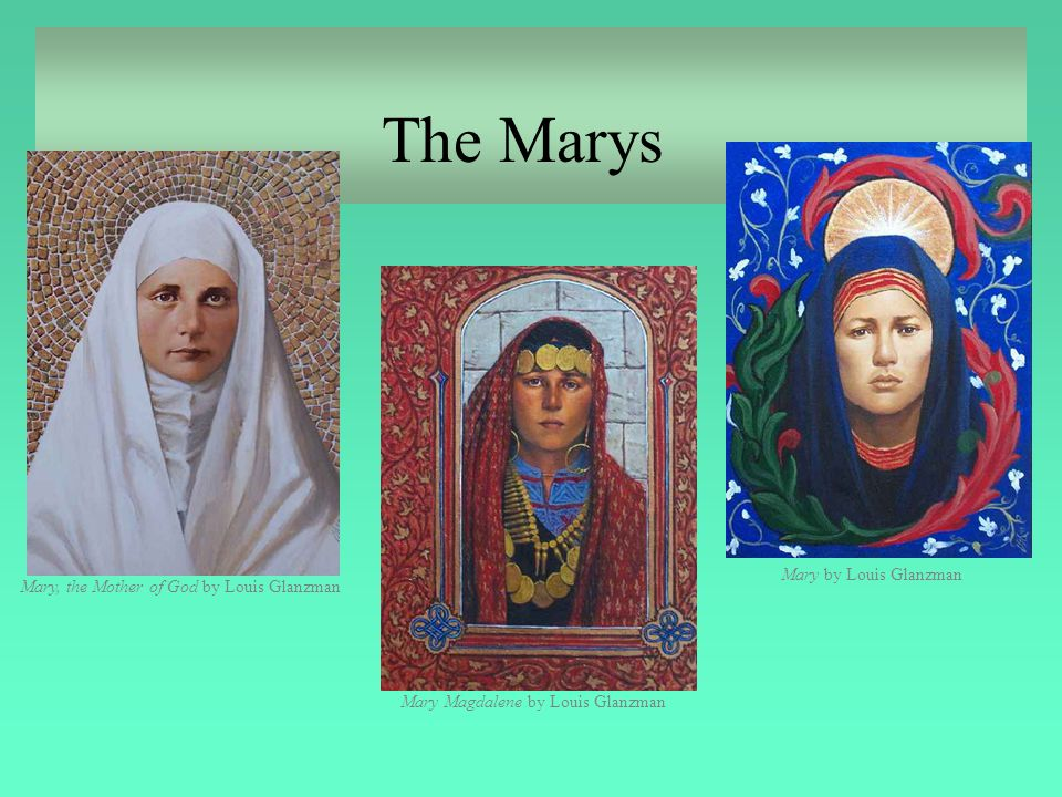 The Marys Mary by Louis Glanzman