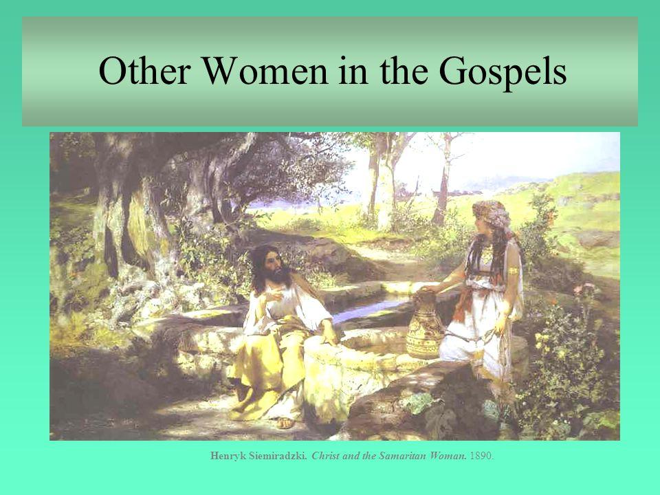 Other Women in the Gospels