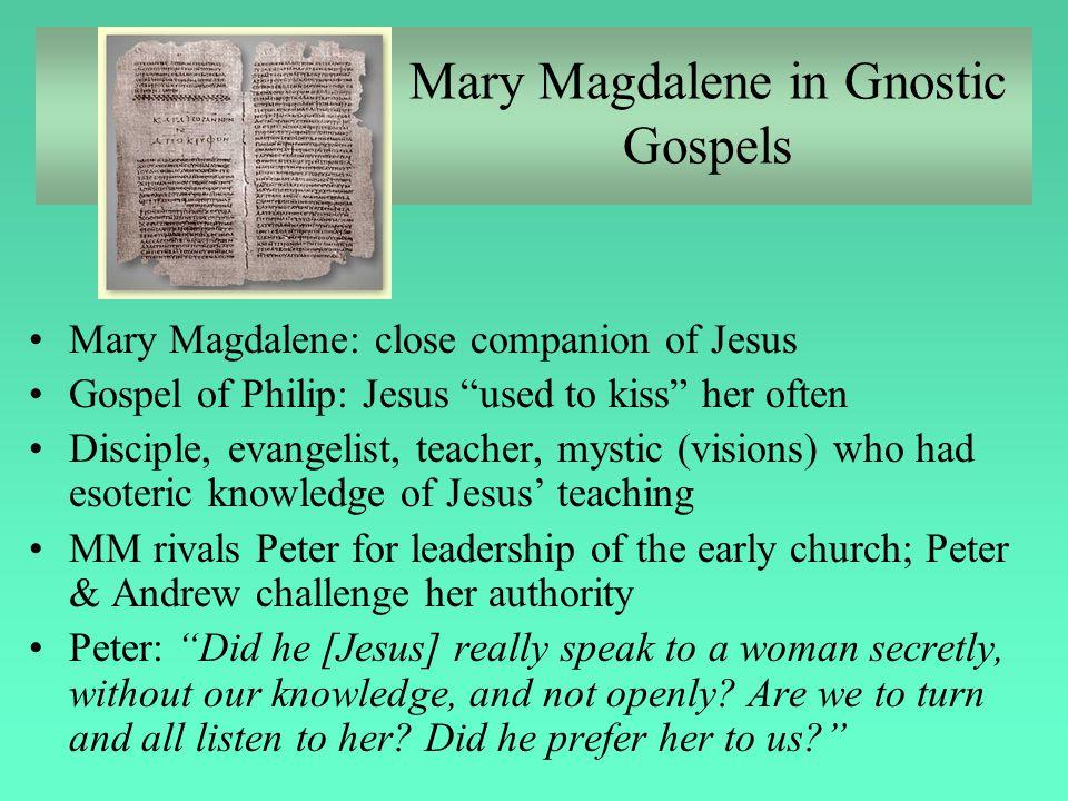 Mary Magdalene in Gnostic Gospels