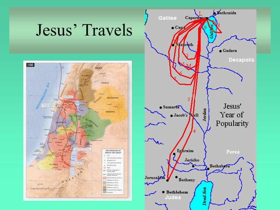 Jesus' Travels