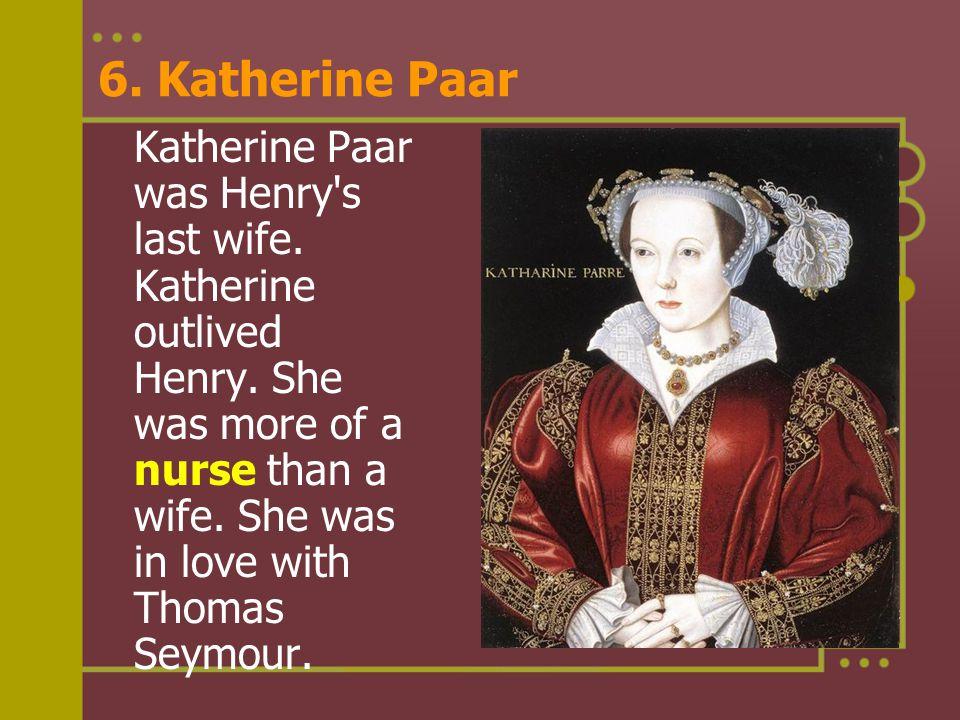 6. Katherine Paar