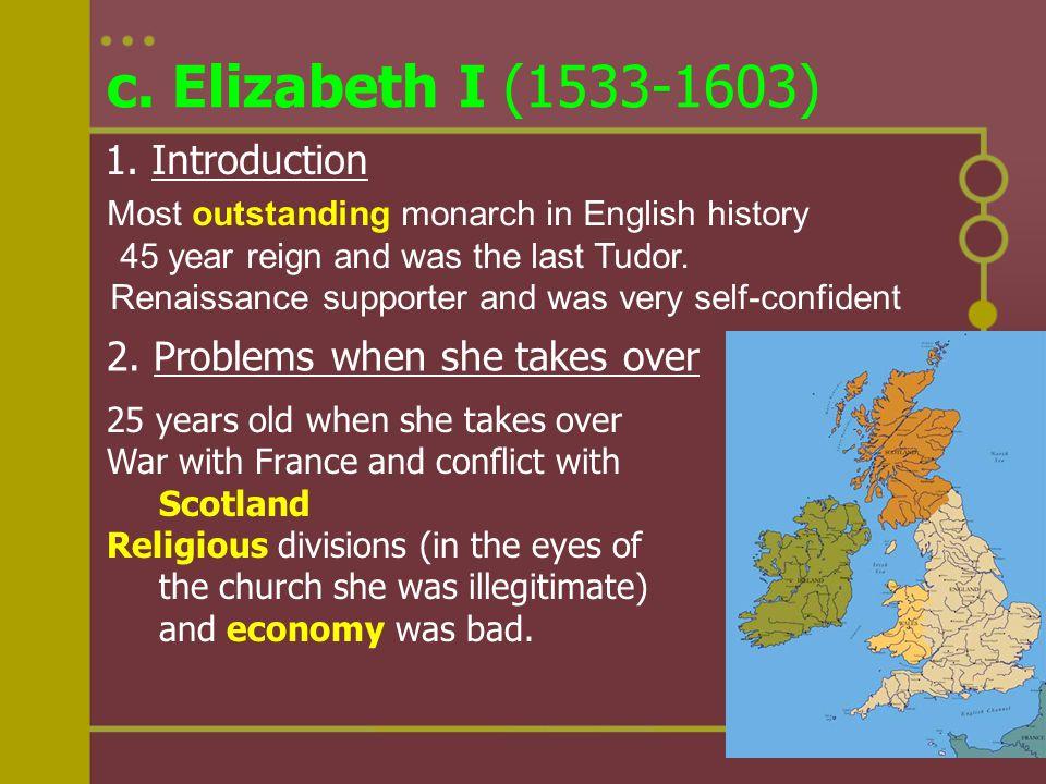 c. Elizabeth I (1533-1603) 1. Introduction