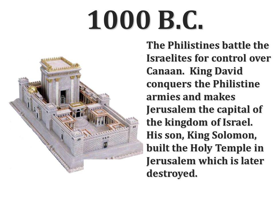1000 B.C.