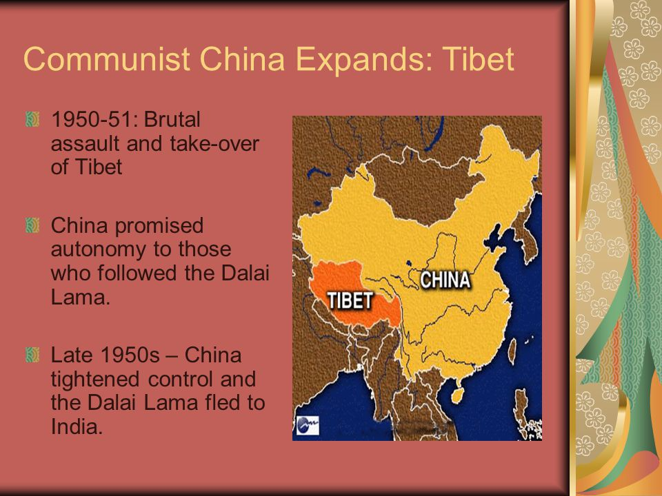 Communist China Expands: Tibet