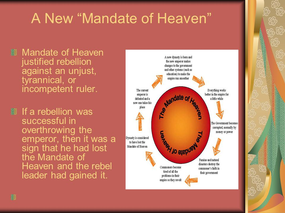 A New Mandate of Heaven