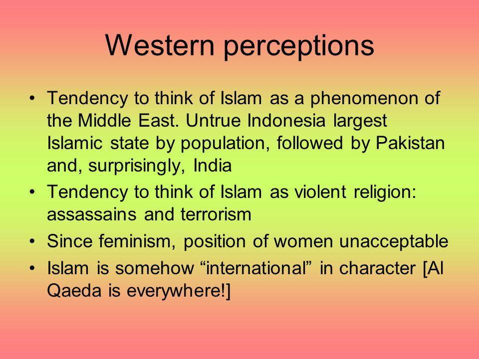 Western perceptions