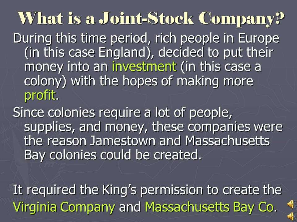 What is a Joint-Stock Company