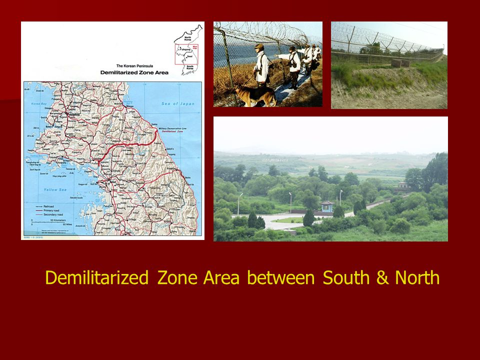 Demilitarized Zone Area between South & North