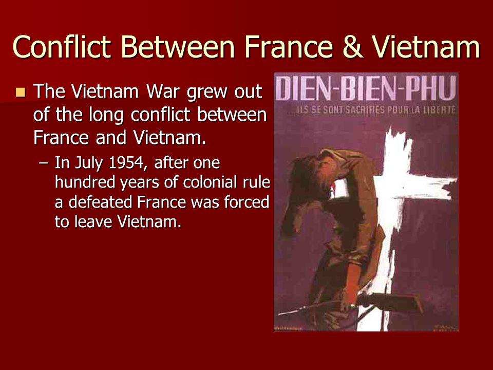 Conflict Between France & Vietnam