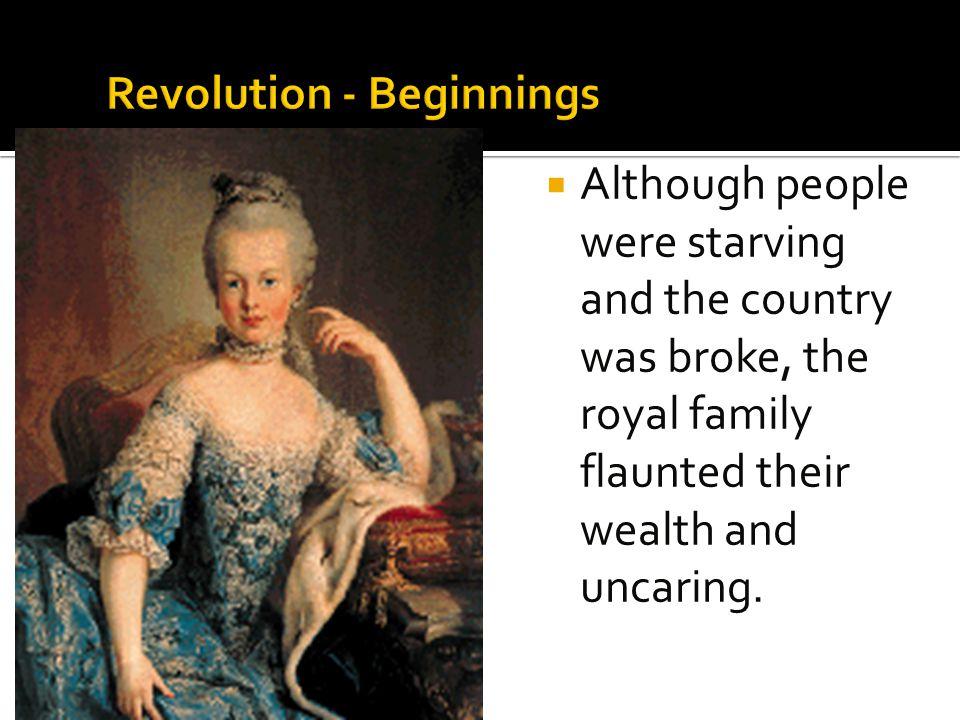 Revolution - Beginnings