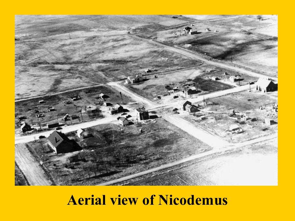 Aerial view of Nicodemus