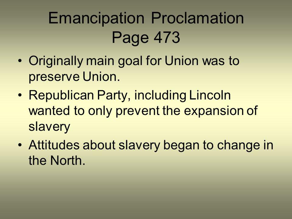 Emancipation Proclamation Page 473