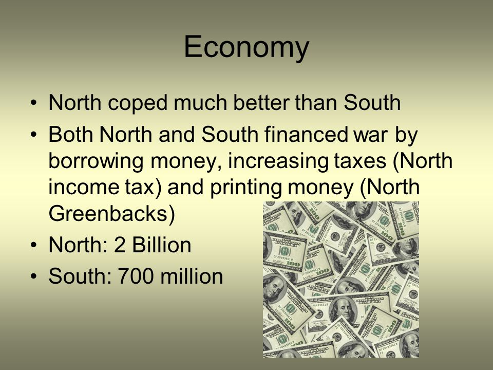 Economy North coped much better than South